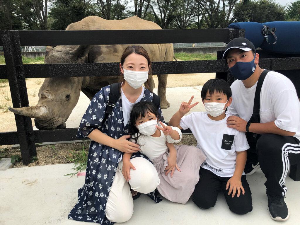 東武動物公園「ミナミシロサイのエマちゃん」