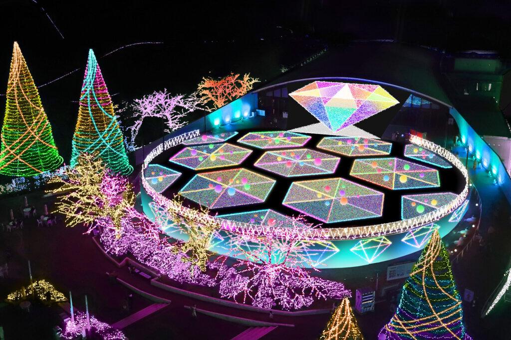 よみうりランド ジュエルミネーション(R)希望の輝き!~多様な光のシンフォニー~