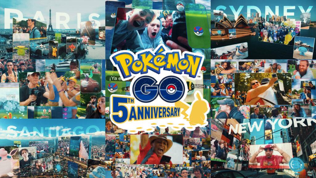 『Pokémon GO』5周年映像  「Adventures Go on!」