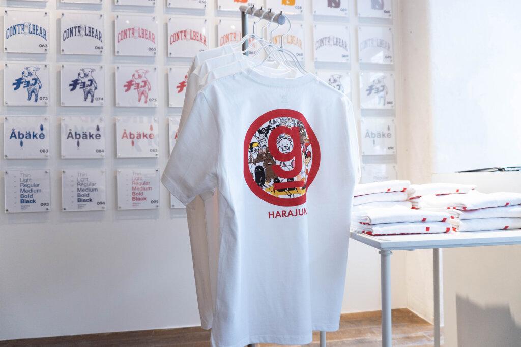 グラニフ原宿店 デザインTシャツ