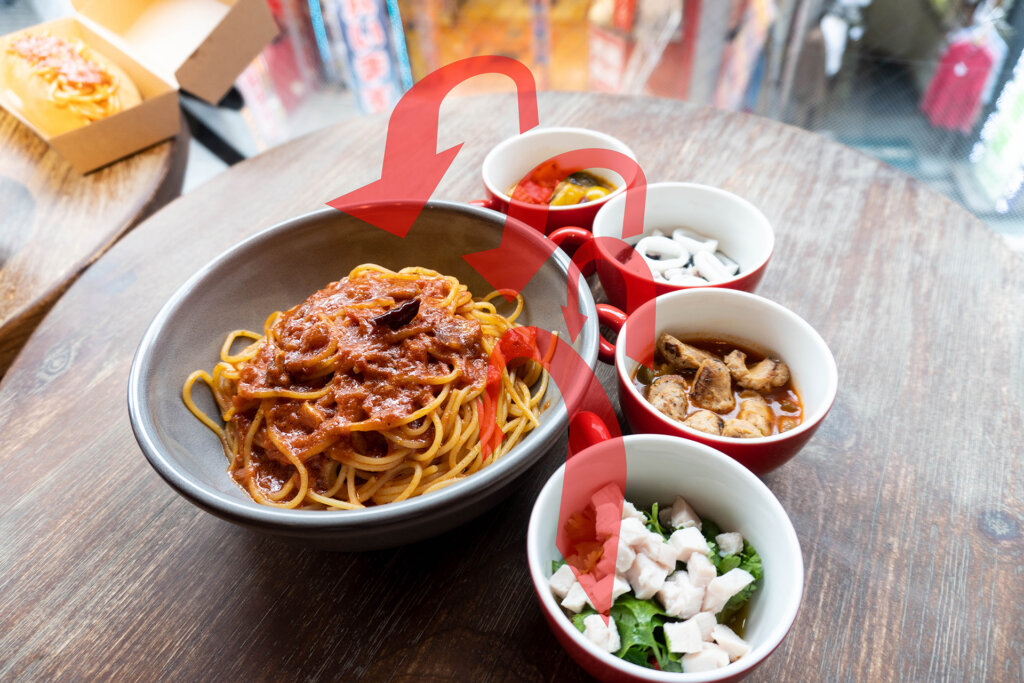 1978年渋谷で生まれたスパゲティ